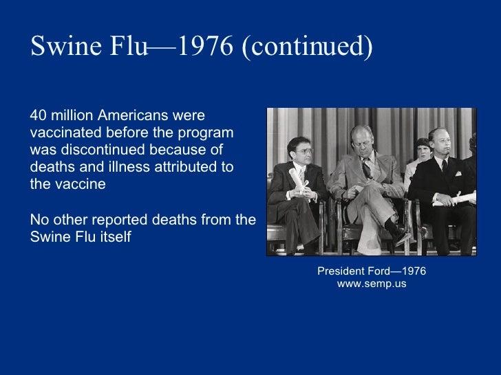 Imagini pentru vaccine swine flu 1976