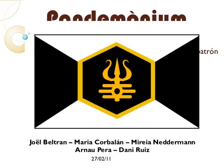 Pandemònium <ul>Joël Beltran – Maria Corbalán – Mireia Neddermann Arnau Pera – Dani Ruiz </ul>