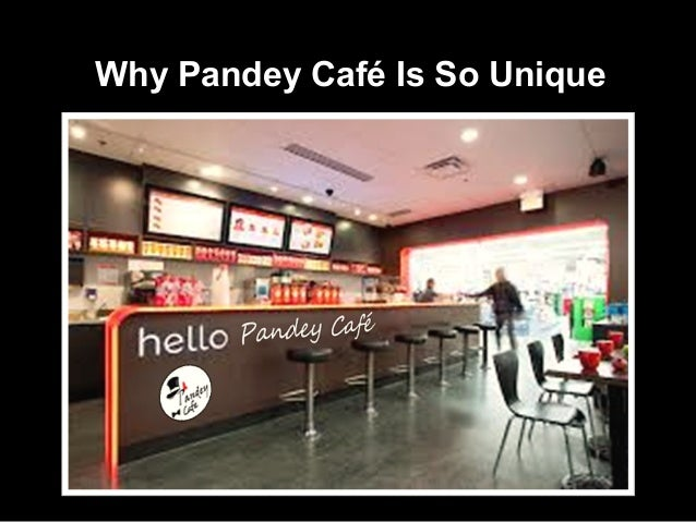 Pandey cafe-business plan