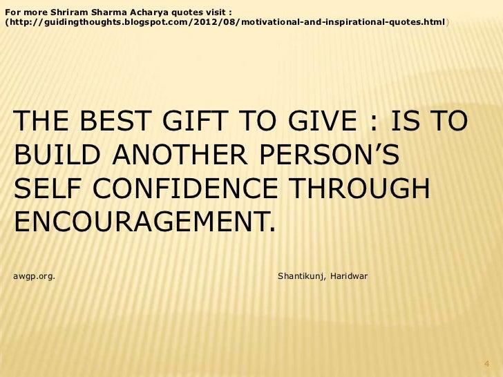 Pandit Shri Ram Sharma Acharya Motivational Quotes