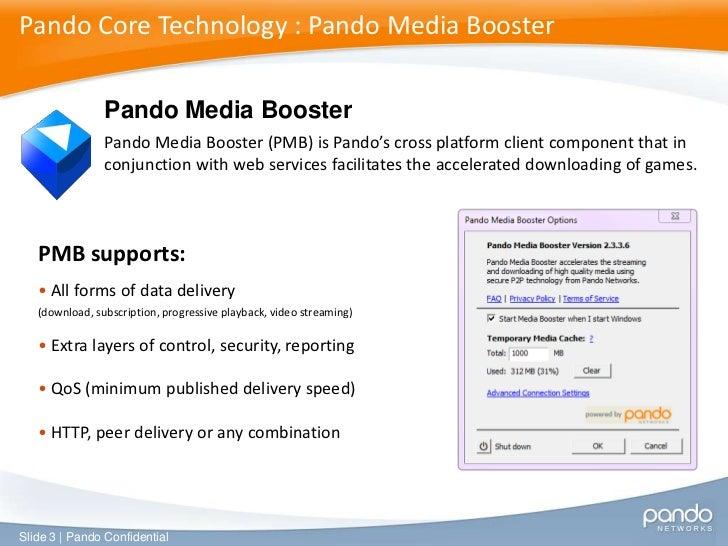 pando media player