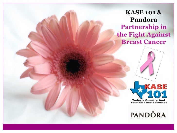 KASE 101 & Pandora Partnership in the Fight Against Breast Cancer