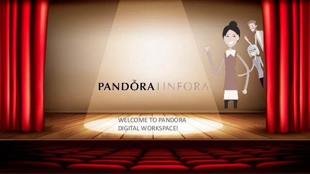 WELCOME TO THE FUTURE! 14 22-09-2017 INTRODUCTION TO PANDORA GLOBAL DIGITAL WORKSPACE INFORA intranet OneDrive for Busines...