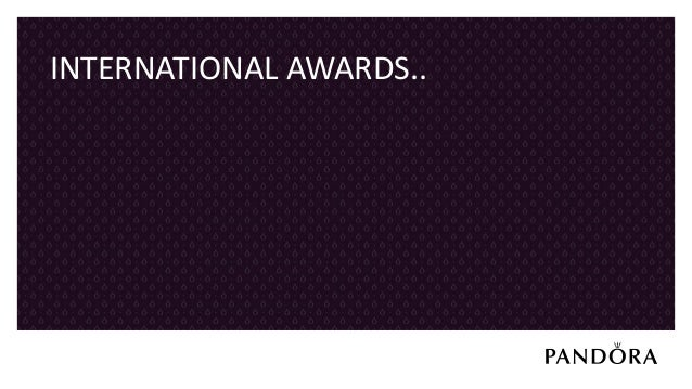 22 SEPTEMBER 201751 PANDORA WON CIPR AWARD 2017 AWARD IN LONDON