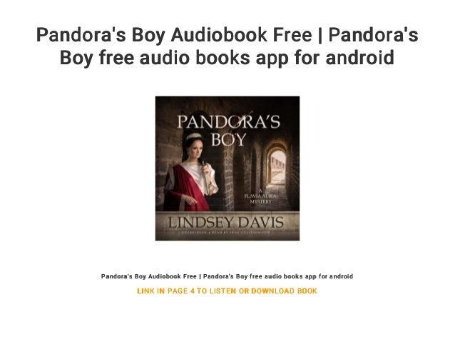 Pandora's Boy Audiobook Free   Pandora's Boy free audio