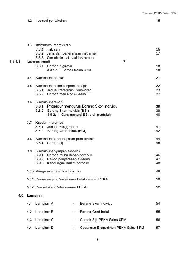 Panduan Peka Sains 1511