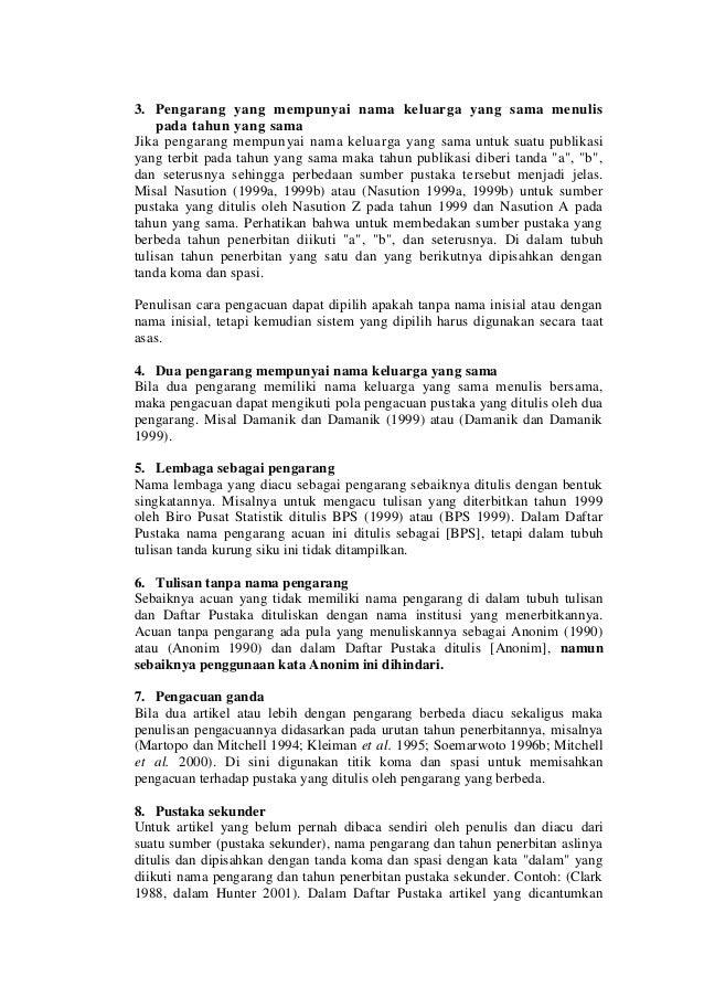 Panduan Penulisan Tesis Dan Disertasi