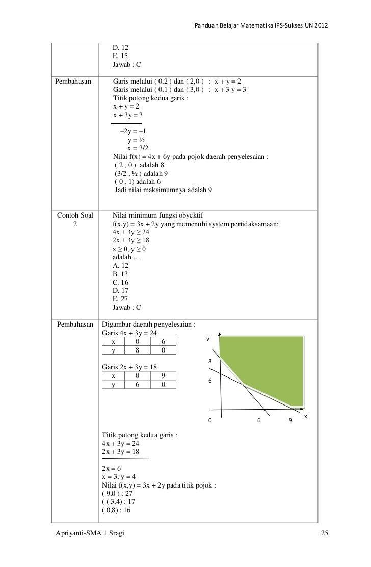 Bank Soal Matematika Fungsi Kuadrat Kumpulan Soal Dan Pembahasan Fungsi Kuadrat Myideasbedroom