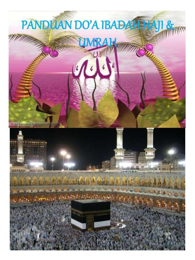 PANDUAN DO'A IBADAH HAJI & UMRAH www.saibah.co.id