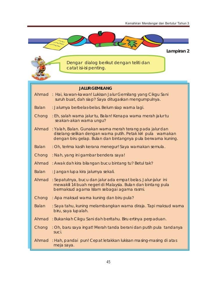 Contoh Cerita Rakyat Pendek Melayu - Contoh 408