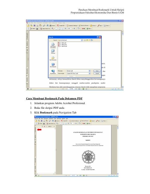 Https Tartojogja Files Wordpress Com 2011 07 Panduan Membuat Bookmark Pdf
