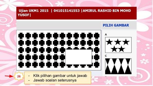 Contoh Soalan Ujian Ukm1 Soalan Bc