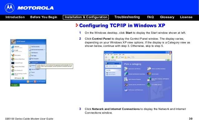 panduan pelanggan fast net cable modem motorola sb5101 rh slideshare net Instruction Manual User Manual Template