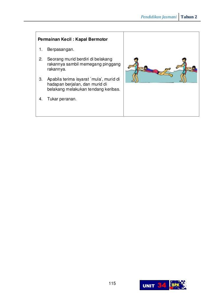 Panduan Pengajaran Pend Jasmani Thn 2