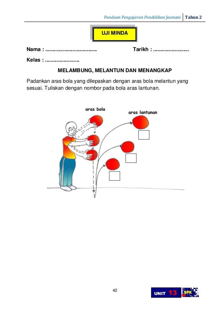 Panduan Pengajaran Pendidikan Jasmani Tahun 2                                                                 UNIT    Foku...
