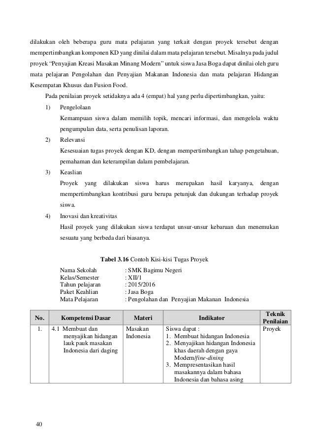 Resep Masakan Indonesia Yang Menggunakan Bahasa Inggris