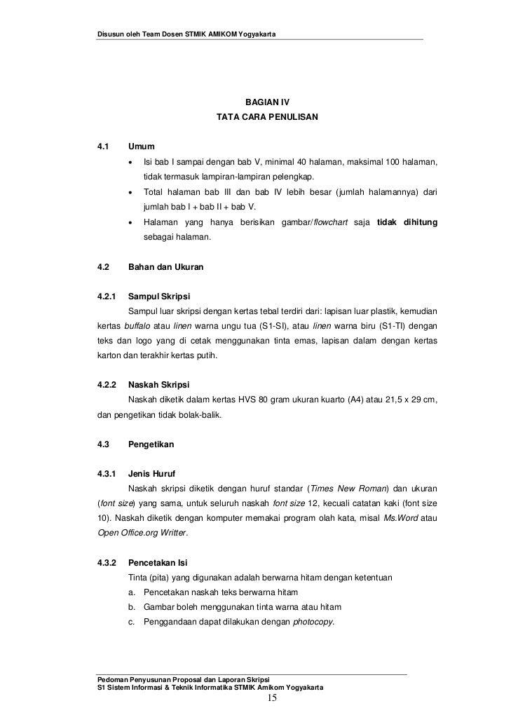 Panduan Penyusunan Skripsi Ver3
