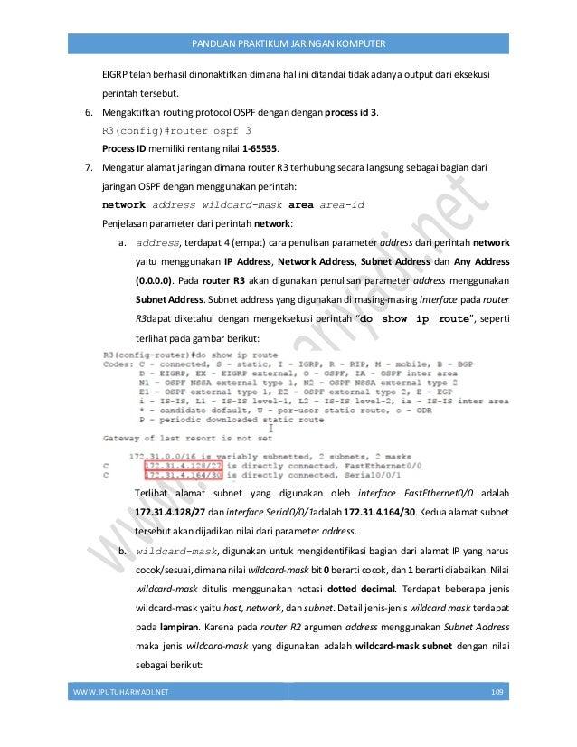 Panduan Praktikum Jaringan Komputer versi 1.1