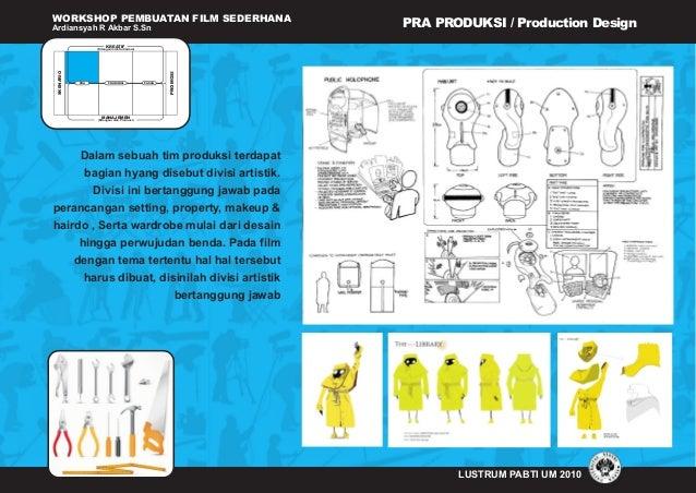WORKSHOP PEMBUATAN FILM SEDERHANA Ardiansyah R Akbar S.Sn LUSTRUM PABTI UM 2010 (Ditangani oleh Sutradara) KREATIF MANAJEM...