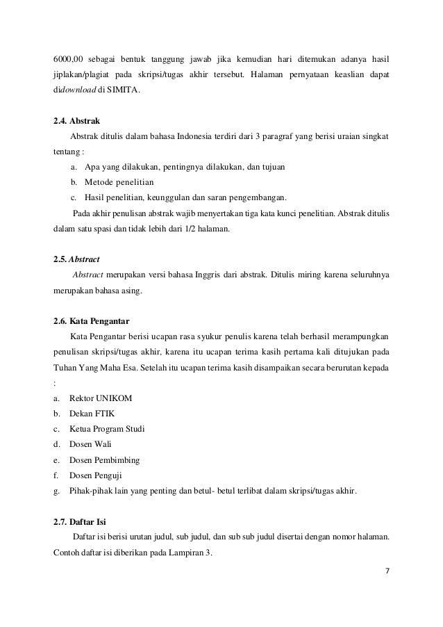 Panduan Skripsi Ta Word Revisi