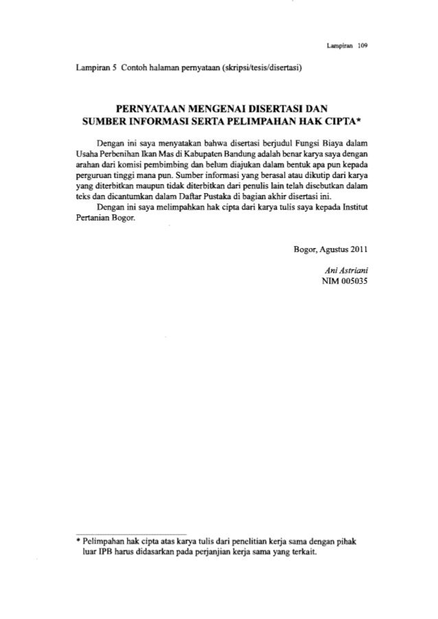 PEDOMAN PENULISAN KARYA ILMIAH EDISI Ke-3