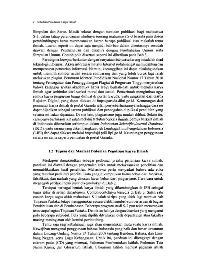 2 ETIKA DALAM PENELITIAN DAN PENULISAN KARYA ILMIAH IPB berkeinginan menjadi universitas riset terkemuka di Asia dengan ko...