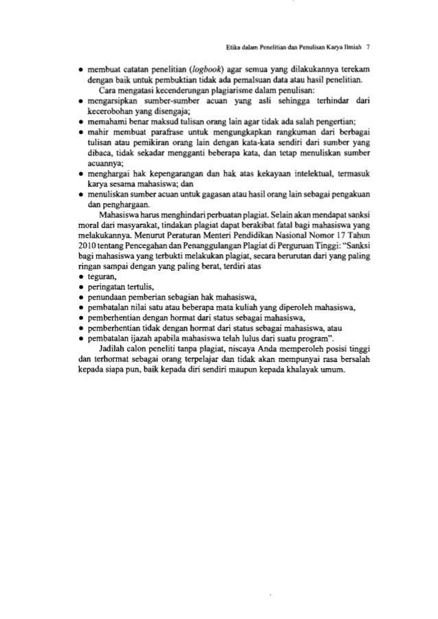 Sistematika Karya Ilmiah 9 dapat mengikuti pola umum atau pola rangkaian penelitian dengan beberapa subjudul. Pola yang di...