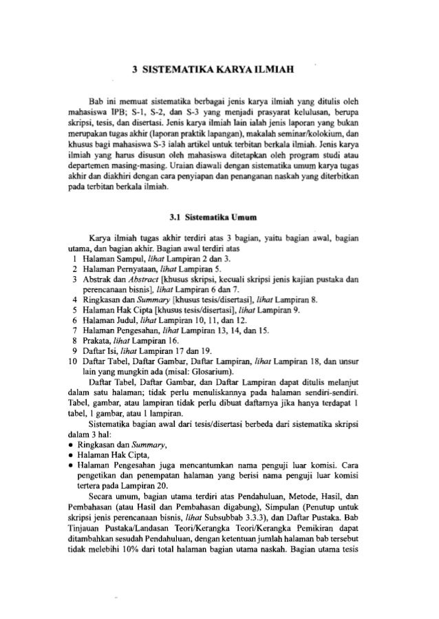 10 Pedoman Penulisan Karya Ilmiah Ringkasan dan Summary Bagian ini ditulis dengan ketentuan berikut. • Ringkasan dan Summa...