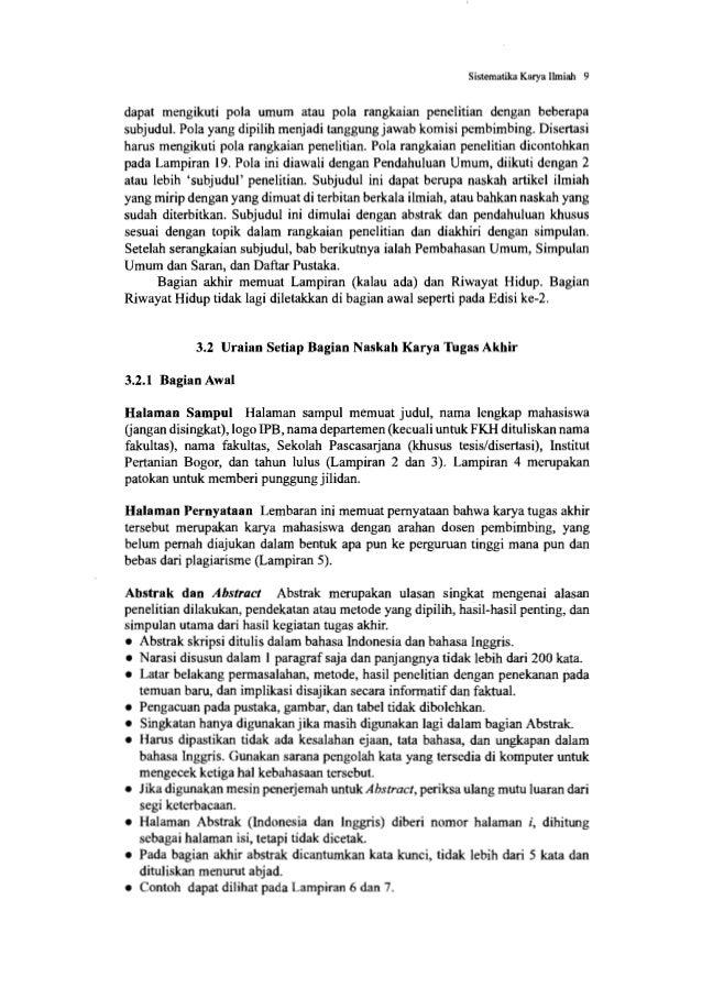 Sistematika Karya Ilmiah 11 • Bagian Kerangka Pikir dan Hipotesis dapat ditulis di sini, tidak ditulis dalam bab tersendir...