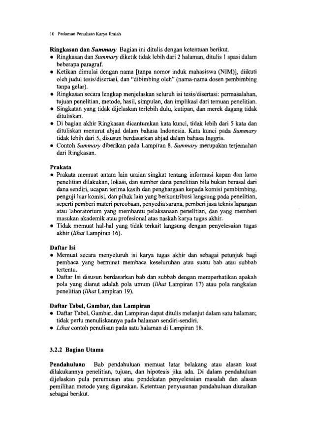 12 Pedoman Penulisan Karya Ilmiah • Untuk membantu mengikuti alur pikir secara skematis, dapat juga dibuat bagan alir kera...