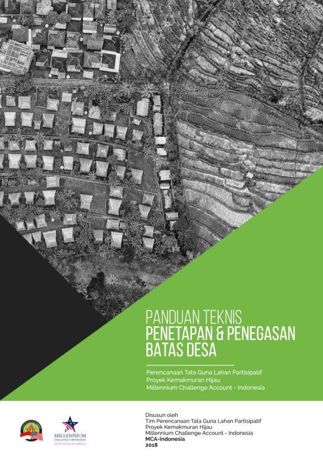 Panduan Teknis Penetapan dan Penegasan Batas Desa_ MCA Indonesia