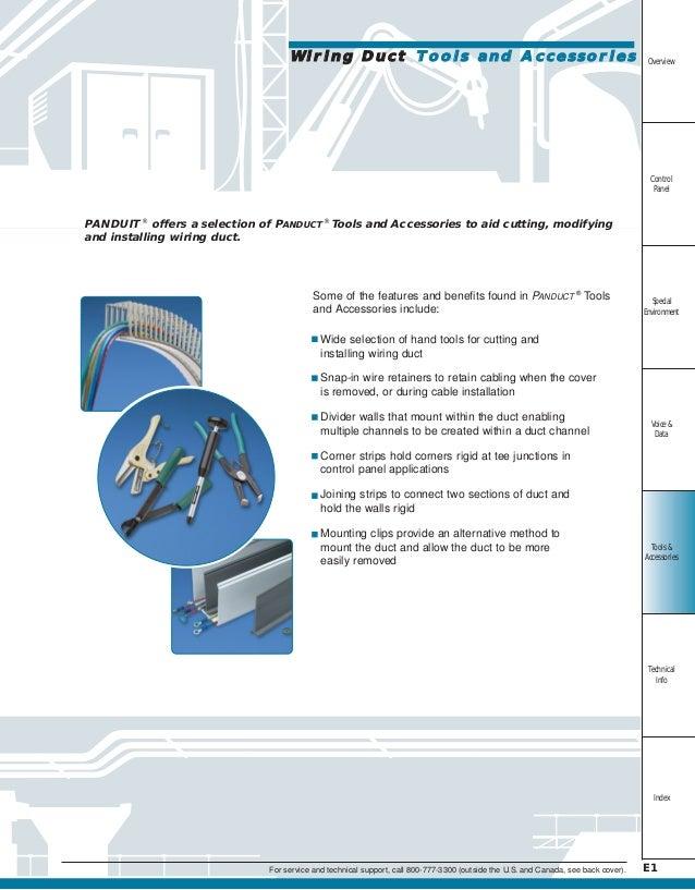 Awesome Panduit Wireway Canada Elaboration - Electrical Chart ...