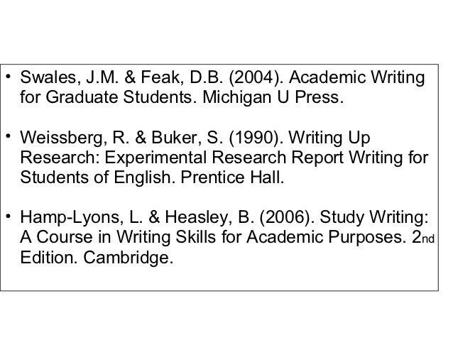 Academic Skills Support