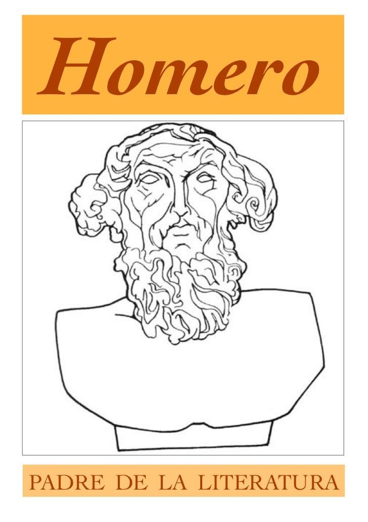 HomeroPADRE DE LA LITERATURA
