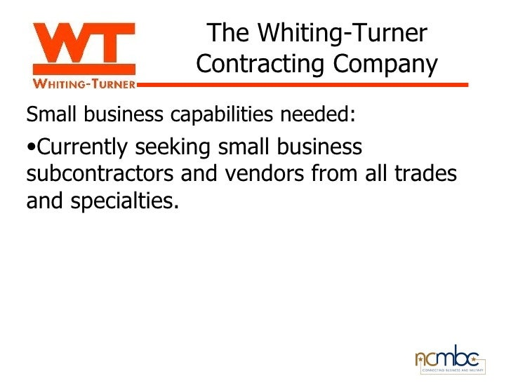 the whiting turner contracting company - Dcbuscharter.co