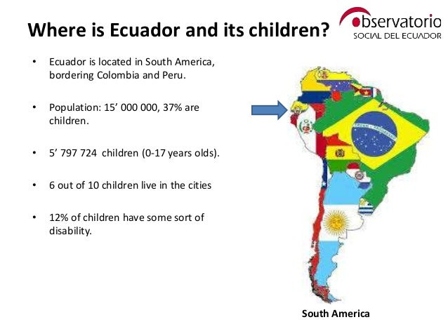 The Role Of Civil Society In Influencing More Equitable Public Polici - Where is ecuador located