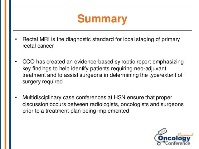 Panel 2 Optimizing Integrated Colorectal Cancer Treatment Planning A