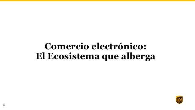 12 Comercio electrónico: El Ecosistema que alberga