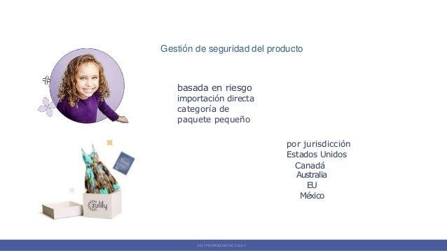 Gestión de seguridad del producto basada en riesgo importación directa categoría de paquete pequeño por jurisdicción Estad...