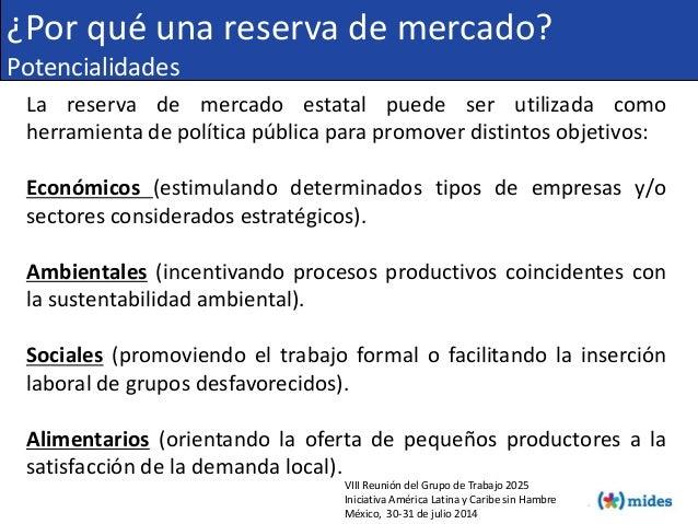 VIII Reunión del Grupo de Trabajo 2025 Iniciativa América Latina y Caribe sin Hambre México, 30-31 de julio 2014 ¿Por qué ...
