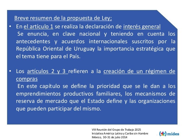 • En el artículo 1 se realiza la declaración de interés general Se enuncia, en clave nacional y teniendo en cuenta los ant...