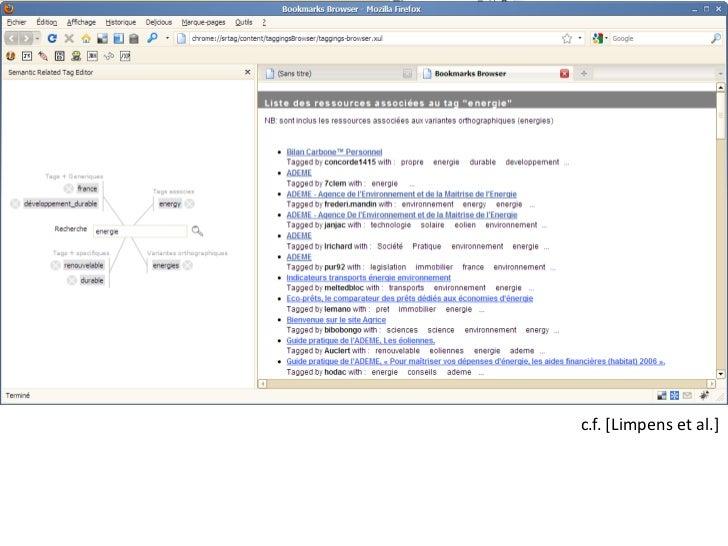 VoCamp.org<br />e.g. tag as named graphs<br />c.f. [Limpens et al.]<br />Nice, France<br />Washington, DC<br />Oxford, UK<...