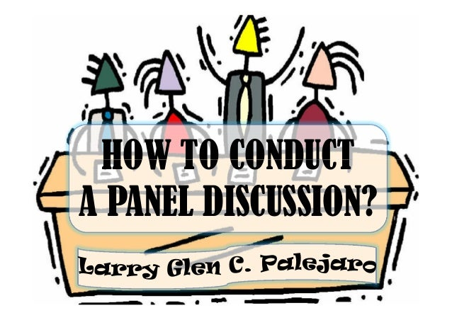 How to Start Out Your Panel Discussion