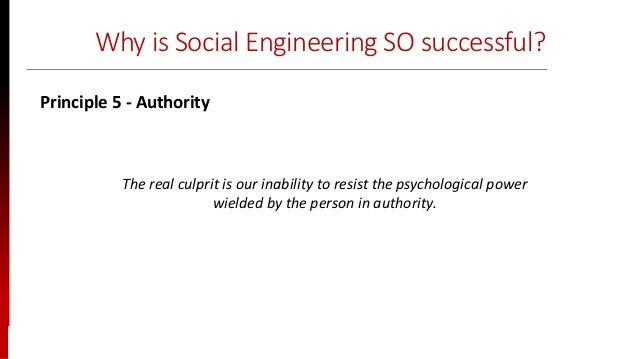 www.sisainfosec.com Why is Social Engineering SO successful? The real culprit is our inability to resist the psychological...