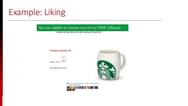 www.sisainfosec.com Example: Liking