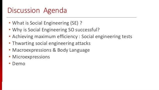 www.sisainfosec.com Discussion Agenda • What is Social Engineering (SE) ? • Why is Social Engineering SO successful? • Ach...