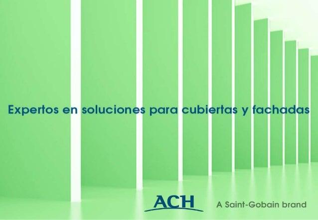 Grupo Saint-Gobain · CORREAS METÁLICAS ACH-Z Y ACH-C ·