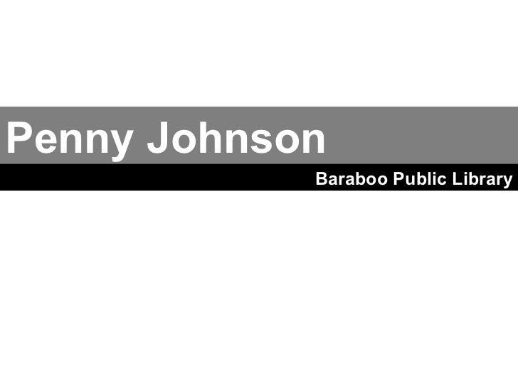 Penny Johnson Baraboo Public Library