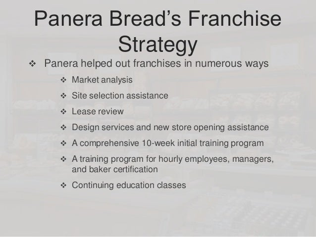 market analysis of panera bread We are panera bread and we believe that good food, food you can feel good about, can bring out the best in all of us food served in a warm, welcoming environment.