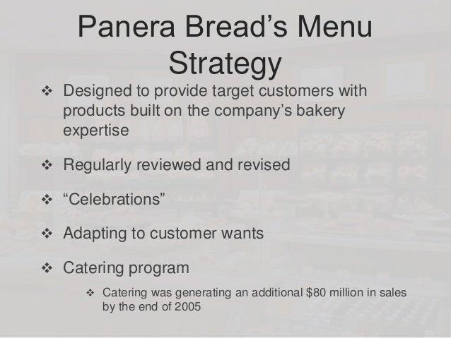 Panera bread marketing plan